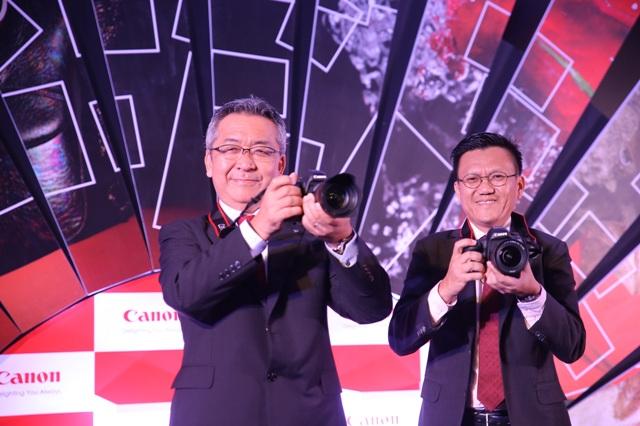 Mr Kazutada Kobayashi, President & CEO, Canon India and Mr