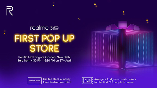 realme to open its first ever pop-up store for fans to