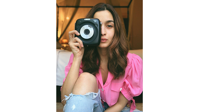 Fujifilm India Signs Up Actress 'Alia Bhatt' for Promoting INSTAX