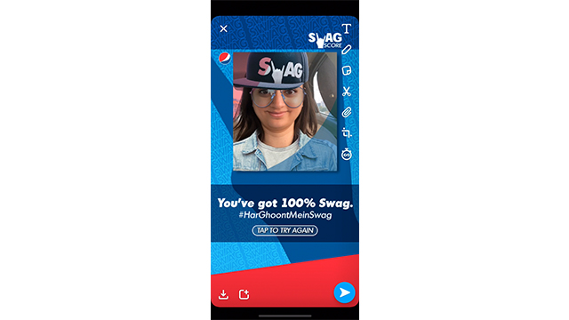 Swag Gets a New 'Interactive' Definition as Snapchat And