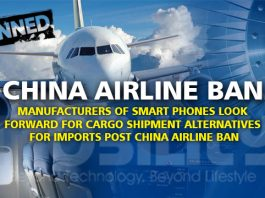 CHINA AIRLINE BAN