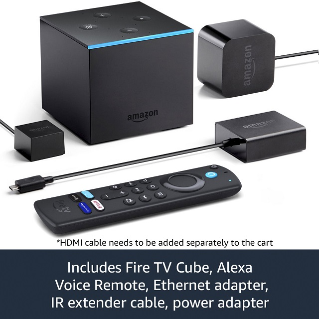 Fire TV Cube - in the box