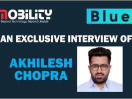 Mr. Akhilesh Chopra, Marketing Director, Bluei