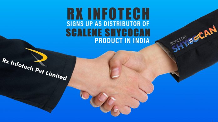 Rx Infotech Signs up as Distributor of Scalene Shycocan Product in India