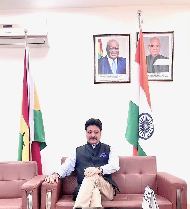 BHUPESH RASEEN Board Member-Ghana India Trade Advisory Chamber (GITAC) Chairman-Mobile Advisory Committee, TMA