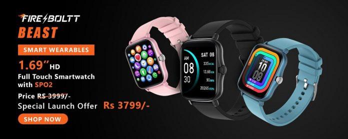 Fire-Boltt Beast Smartwatch