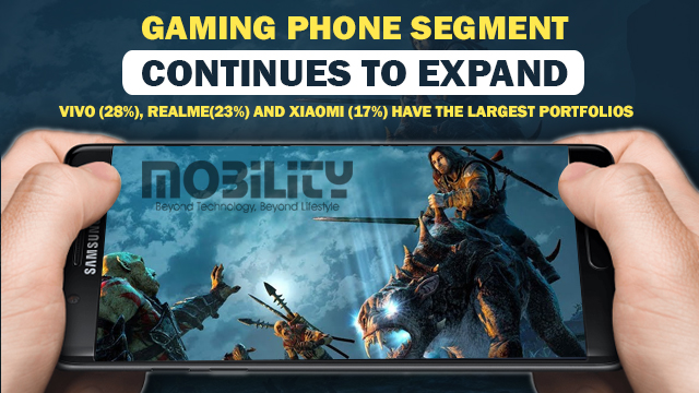 Gaming Phone Segment continues to expand