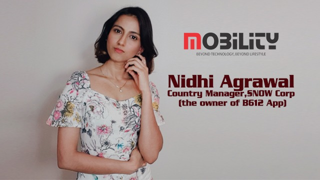 Nidhi Agrawal, Country Manager, SNOW Corp (the owner of B612 App), shares their app's merits and the beneficial features to users