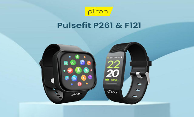 pTron Smartwatch