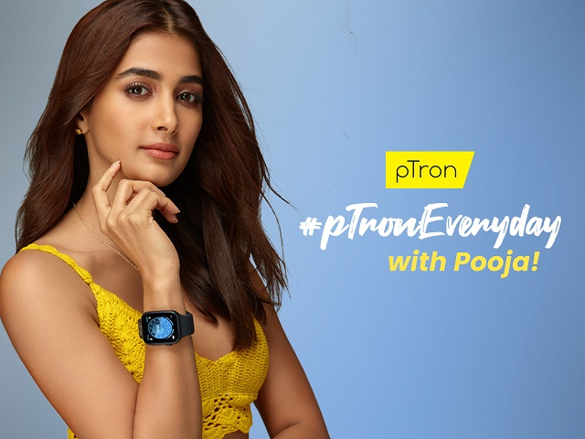 Actress Pooja Hegde stars in #pTronEveryday Campaign