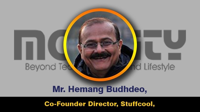 Mr. Hemang Budhdeo, Co-Founder Director, Stuffcool