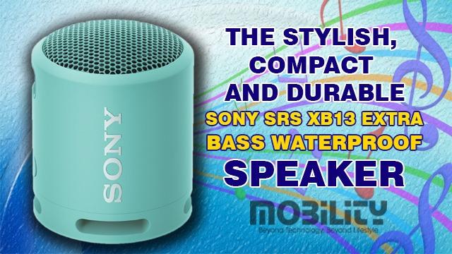 Sony SRS XB13 EXTRA BASS Waterproof Speaker