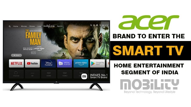 Acer Brand to Enter the Smart TV