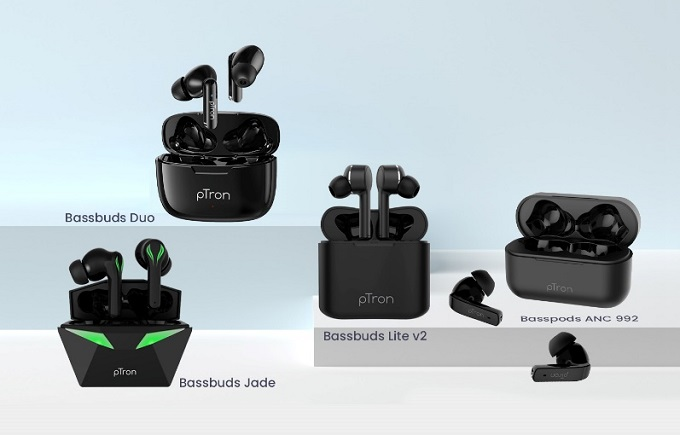 pTron earbuds
