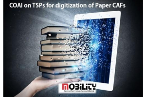 COAI on TSPs for digitization of Paper CAFs